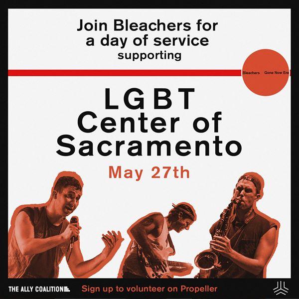 Bleachers Tour Service Project